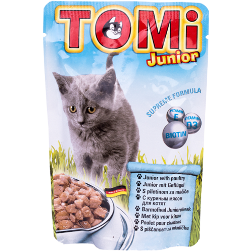 Tomi Hrana za mačke ALU vrećica Junior 100g slika 1