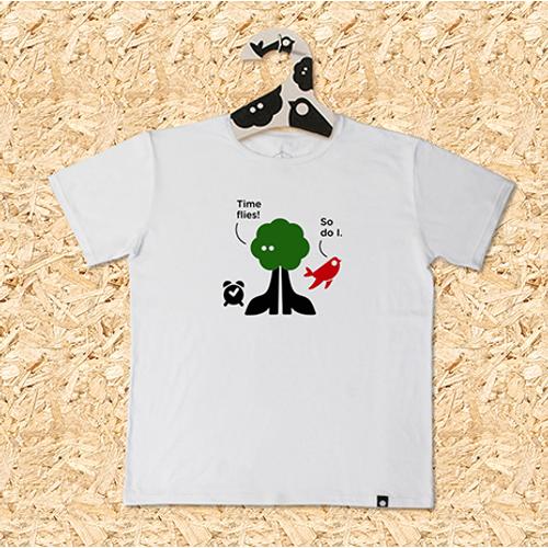 Muška majica SVAKODNEVKA S PORUKOM bijela slika 1