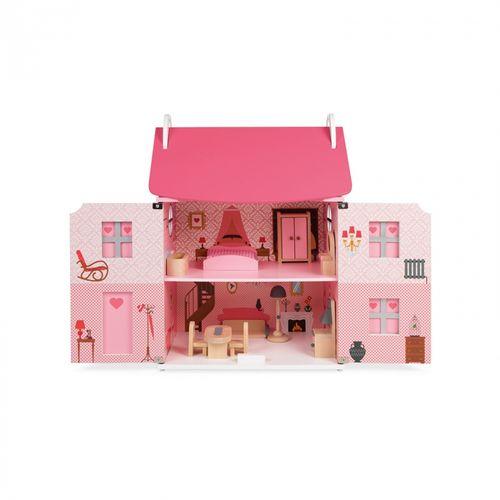 Janod Mademoiselle drvena kućica za lutke slika 4
