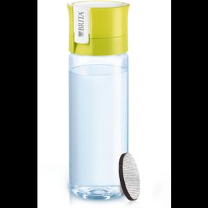Bočica BRITA Fill&Go VITAL je high tech bočica za vodu volumena 0,6l izrađena od tritana. Pakiranje uključuje Micro Disc filter posebne tehnologije za filtraciju do 150 litara vode koji smanjuje udio klora i ostalih nečistoča u vodi te čuva minerale. Eco-friendly zamjena za PET bočice. Perivo u perilici posuđa.
