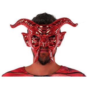 <html>Ako planirate organizirati veliku proslavu, možete odmah po povoljnim cijenama <b>Maska 117746 Demon Crveno</b> i druge <b>produits BigBuy Carnival</b> kako biste napravili jedinstvenu i prazničnu atmosferu!Boja: RdečaMaterijal: PVC</html>