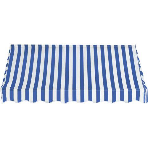 Bistro tenda 200 x 120 cm plavo-bijela slika 9