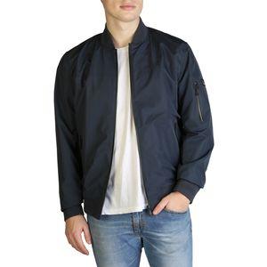 Polyester  Jackets  Men  Spring/Summer  Blue