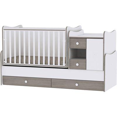 Soba koja raste s Vašim djetetom. Od kolijevke koja se ljulja s komodom za previjanje do kreveta, noćnog ormarića i radnog stola za mlade, ali i mnogo više…