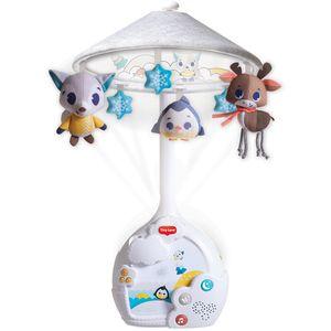 Magical Night vrtuljak i projektor koji se jednostavno spaja na kolijevku, svira do 30 minuta neprestanih melodija (9 različitih melodija) i ima noćno svjetlo koje projicira zvijezde kako bi umirio bebu. Kada beba poraste i vrtuljak više nije aktualan, jednostavno ga pretvorite u samostalnu glazbenu kutiju sa svjetlom. Ovaj vrtuljak i projektor promiče razvoj bebine emocionalne inteligencije, osjetila i komunikacije...