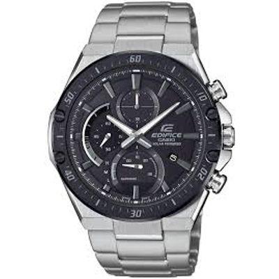 Casio Edifice muški sat EFS-S560DB-1AVUEF je s razlogom jedan od najpopularnijih proizvoda iz CASIO kolekcije. Predivan muški sat na kojem dominira crna boja kućišta te crna boja brojčanika. Nehrđajući čelik i srebrna boja remena doista su odlična kombinacija. Ovaj prekrasan CASIO muški sat pokreće quartz mehanizam.