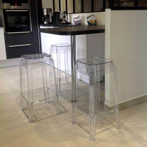 Dizajnerska barska stolica — POLY slika 8