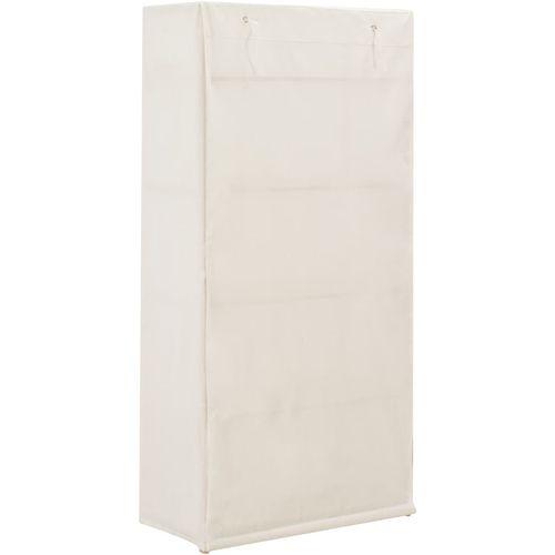 Ormar od tkanine bijeli 79 x 40 x 170 cm  slika 10