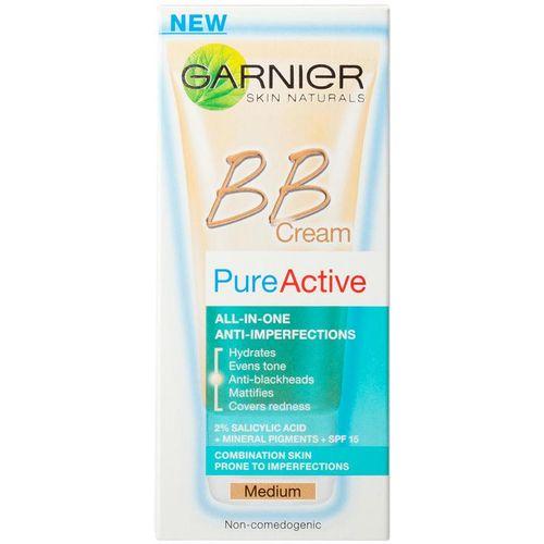 Garnier Skin Naturals Pure Active BB Medium krema 50 ml protiv bubuljica slika 2