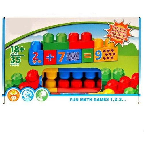 Set 35 raznobojnih kockica (18mj+) slika 1