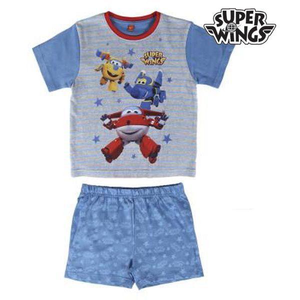 <html><html>Djeca zaslužuju najbolje, zato vam predstavljamo <b>Ljetna Pidžama za Dječake Super Wings 72108</b>, savršen za one koji traže kvalitetne proizvode za svoje mališane! Nabavite <b>Super Wings</b> po najboljim cijenama!Boja: ModraSastav: 100 % pamuk</html></html>