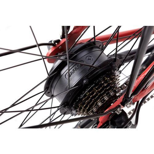 """Apache električni bicikl Tanka 10 Crvena 26"""" 18"""" Okvir slika 10"""