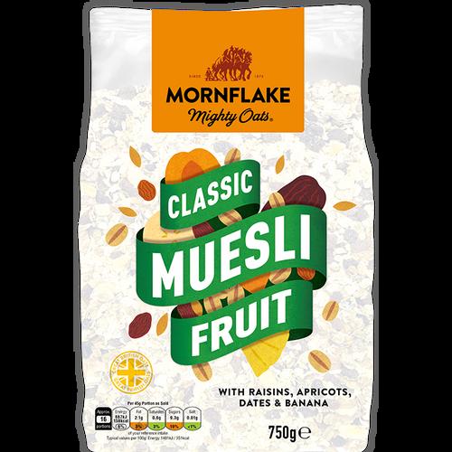 MORNFLAKE muesli s voćem 750g slika 1