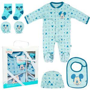 Baby set Disney Mickey Veličina: 1-3 mj.  100% pamuk.