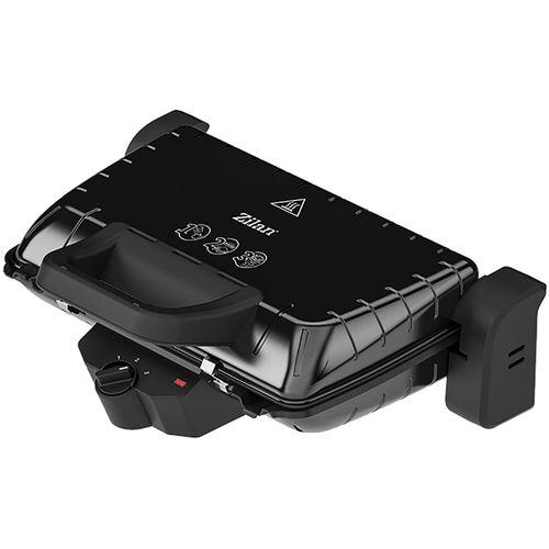 Zilan Grill kontaktni, 2u1, 1600 W, crna - ZLN4021 BK slika 1