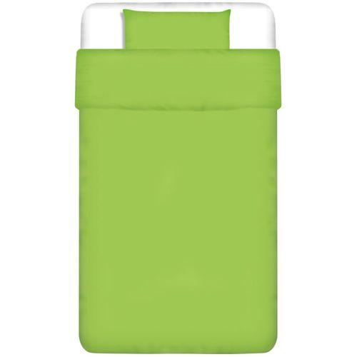 Dvodijelna Posteljna Garnitura Pamuk Zelena boja 135x200/60x70 cm slika 5