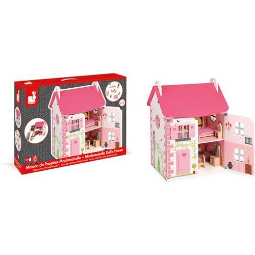 Janod Mademoiselle drvena kućica za lutke slika 5