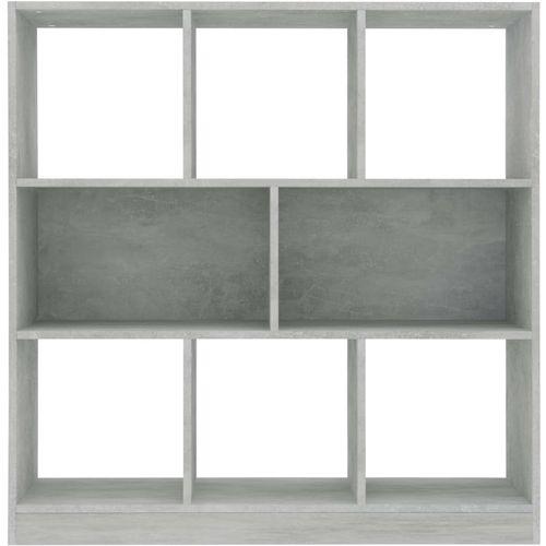 Ormarić za knjige boja betona 97,5 x 29,5 x 100 cm od iverice   slika 4