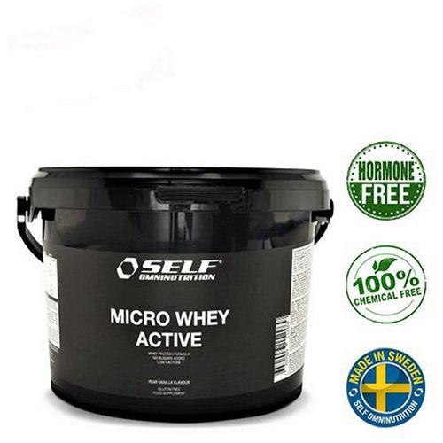 Self Omninutrition Proteini Micro Whey Active Stevia Vanilla 1 kg slika 1