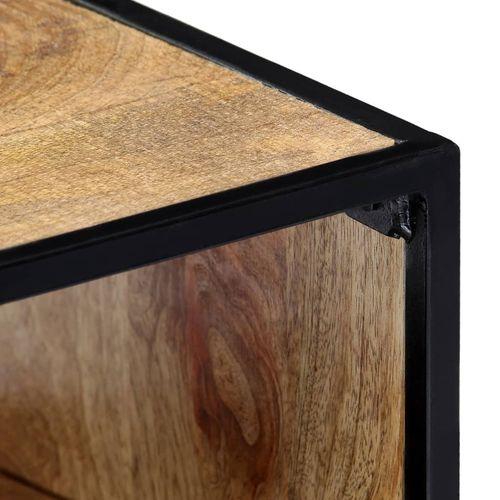Noćni ormarić od masivnog drva manga 40 x 30 x 50 cm slika 12