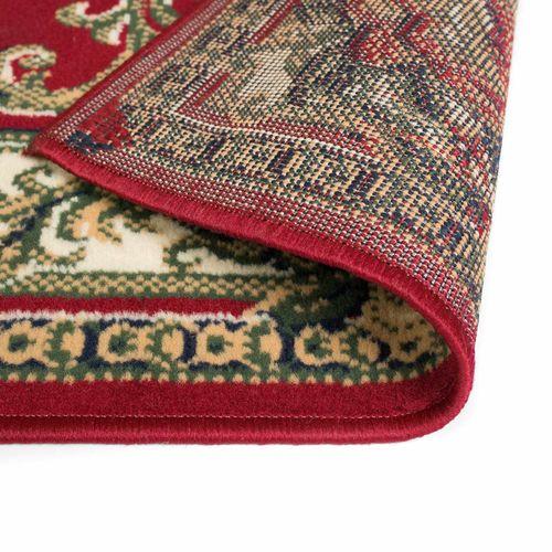 Orijentalni tepih perzijskog dizajna 180 x 280 cm crveni/bež slika 9