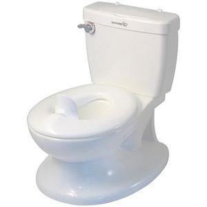 My Size ® Potty ima izgled i dojam odraslih WC-a kako bi se osigurao udoban i siguran prijelaz na pravu stvar.  WC ručka ima zvuk ispiranja da nagradi i potakne vaše mališane, a ugrađeni uređaji za brisanje promiču dobre higijenske navike.  Ova,...