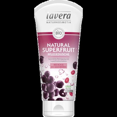 LAVERA Gel za tuširanje natural superfruit BIO 200ml slika 1