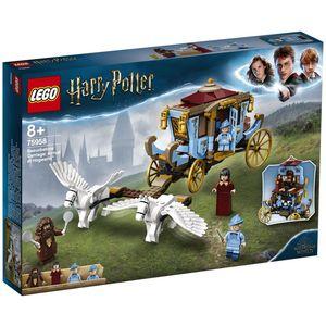Prepustite se mašti uz pomoću LEGO® Harry Potter ™ 75958 Beauxbatons 'Carriage' seta: Dolazak u građevinski kompleks Hogwarts ™. Mlade vještice i čarobnjaci oživjet će uzbudljivi prizor iz Harryja Pottera i Vatrene čašice ™