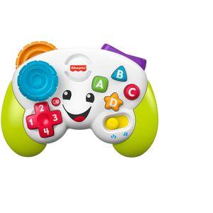 Vaše maleno može uživati u zabavnoj igri s Fisher-Price kontrolerom s dva načina igre. Kako maleni gejmeri pritišću tipke sa slovima i brojevima, čut će zabavne pjesme, zvukove i fraze koje ih upoznaju s brojevima, oblicima, bojama i više! Kada razvoj postane igra!