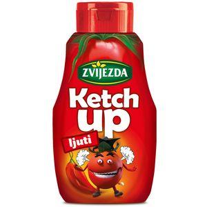Dašak ljutine za savršen okus    Za sve one kojima je potreban nešto pikantniji okus tu je Zvijezdin ketchup blago ljutog okusa.