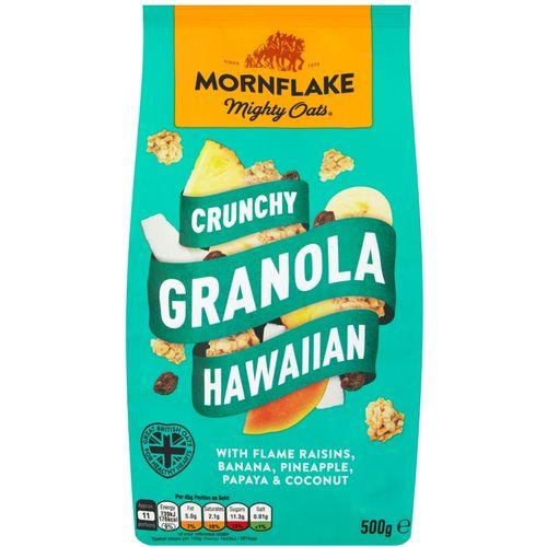 MORNFLAKE muesli granola hawaiian 500g slika 1
