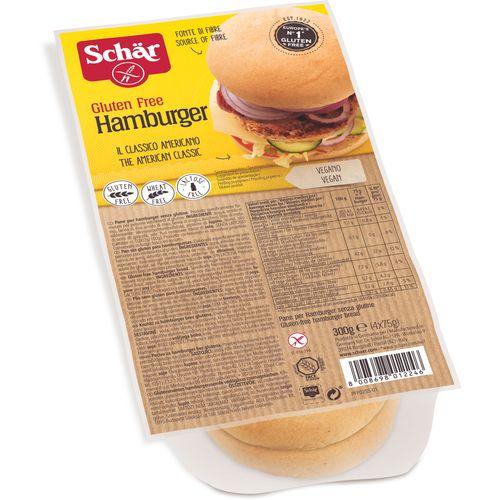 DR.SCHÄR bezglutensko pecivo hamburger 300g (4x75g) slika 1