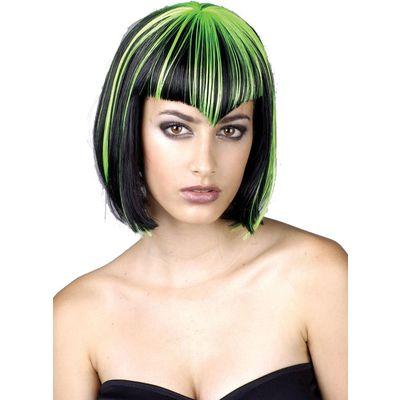 Bob frizura sa neobičnim šiškama dolazi u različitim bojama.