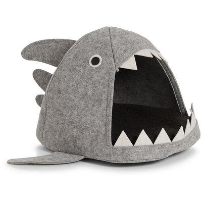Zeller Krevetić za mačke SHARK, filc sivi 45 x 38 x 32 cm, 14374