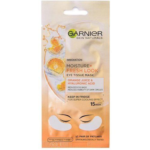 Garnier Skin Naturals Eye Tissue Mask - maska za oči protiv tamnih krugova slika 1