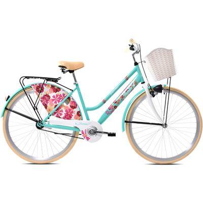 Otkrijte grad na pametan način. Svestran bicikl inteligentnog dizajna, svakodnevna putovanja čini puno zabavnijim. Dolazi s nosačem tereta.<br><br>NAPOMENA:Svi Capriolo bicikli dolaze u tvorničkom pakiranju, sastavljeni. Sve što trebate napraviti je mo...