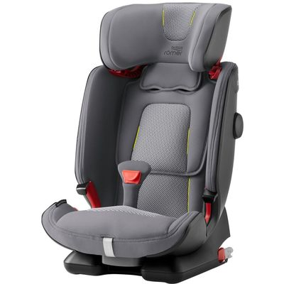 BRITAX RÖMER Advansafix IV R Air je autosjedalica koja raste s tobom, tobom i samo s tobom!  - Grupa 1/2/3  - Za dijete težine od 9 do 36 kg  - Približno od 9 mjeseci do 12 god   - Bočna zaštita SICT  - Prednja zaštita (SecureGuard)  - FLIP & GROW sistem lake prilagodbe visine  - Sigurnosni pojas u 5 točaka učvršćivanja (do 18 kg)  - Prilagodljiva visina naslona za glavu  - Uklonjiva navlaka  - Garancija 2 god