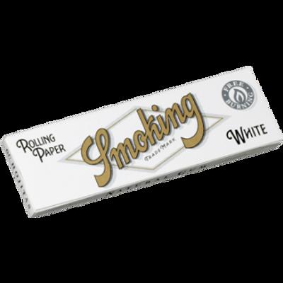 SMOKING papirići za motanje kratki Bijeli