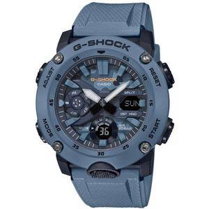 Casio G-Shock muški sat GA-2000SU-2AER je s razlogom jedan od najpopularnijih proizvoda iz CASIO kolekcije. Predivan muški sat na kojem dominira plava boja kućišta te plava boja brojčanika. Resin i plava boja remena doista su odlična kombinacija. Ovaj prekrasan CASIO muški sat pokreće quartz mehanizam.