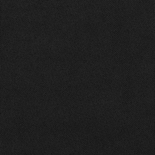 Zavjese za zamračivanje s kukama 2 kom crne 140 x 245 cm slika 4