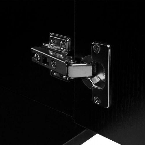 3-Dijelni Komplet Namještaja za Kupaonicu s Umivaonikom Crni  slika 7