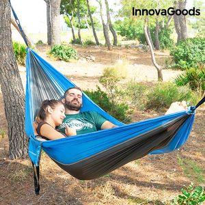 <p>Budite opušteniji dok udobno uživate u odmoru na novoj<strong>Dvostrukoj Ležaljci za Kampiranje Swing &amp; Rest InnovaGoods<strong>Gadget</strong></strong><strong>Travel</strong>! Zbog svog originalnog i praktičnog dizajna, zauzima vrlo malo pro...