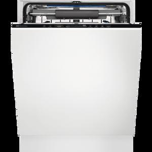 Electrolux 700 perilica posuđa (integrirana) s AirDry tehnologijom Vaše čaše sigurne su i blistave u perilici posuđa 700 GlassCare. Naši jedinstveni držači SoftGrips i SoftSpikes nježno drže vaše čaše u pravom položaju na gornjem stalku. Na donjem stalku držač GlassHolder osigurava savršeno čišćenje čak i za vaše čaše s visokim stalcima.