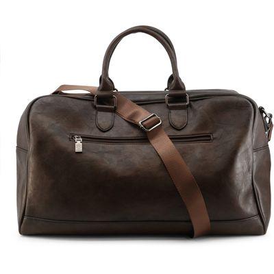 Polyurethane  Handbags  Men  All Year  Brown