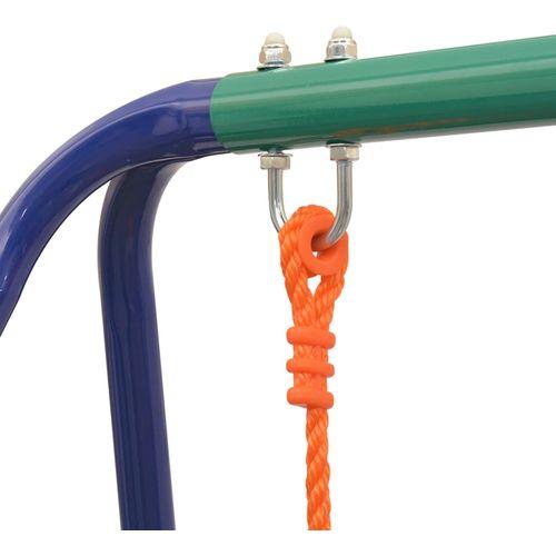 2-u-1 obična ljuljačka i ljuljačka za malu djecu narančasta slika 17