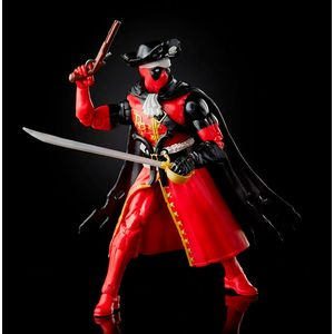 Articulated figure. Size: 15cm. Contains accessories.