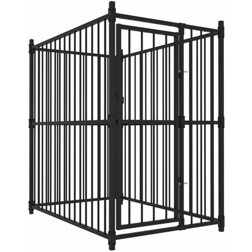 Vanjski kavez za pse 150 x 100 x 150 cm slika 6