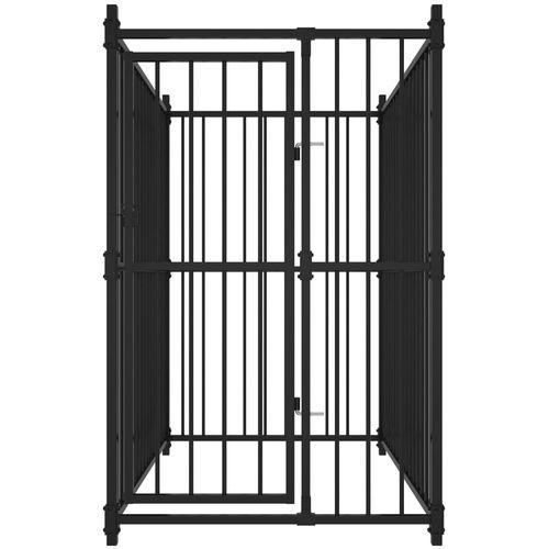 Vanjski kavez za pse 150 x 100 x 150 cm slika 2