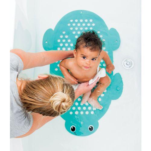 Infantino 2u1 Prostirka za kupanje i košara za igračke - Kornjača slika 2