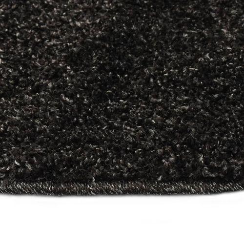 Čupavi ukrasni tepih 160 cm antracit slika 5